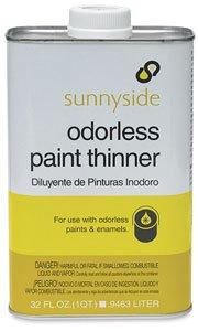 Sunnyside Odorless Paint Thinner - Quart, Odorless Paint Thinner