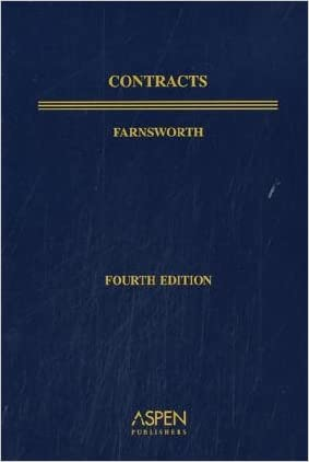 Contracts, Fourth Edition, Textbook Treatise Series