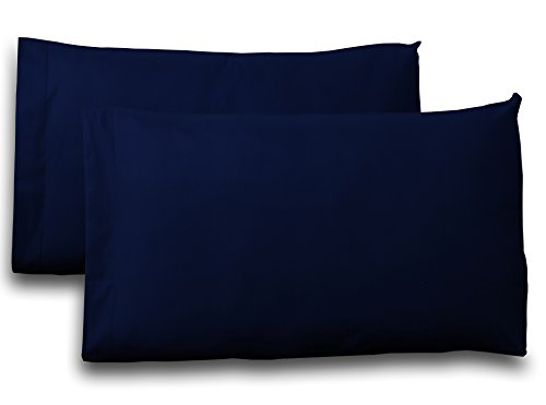 Queen-Cotton-Sateen-Pillow-Case-Covers-2-Pack-each-20x30-inches-Navy-100-Cotton-Sateen-for-Maximum-Softness-and-Easy-Care-Elegant-Double-Stitched-Tailoring-by-Utopia-Bedding