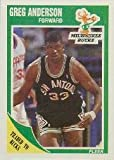 1989-90 Fleer #85 Greg Anderson UER/(Stats show 1988-89 as 19888-89)