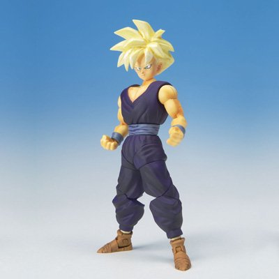 Dragonball Z BanDai Hybrid Action Mega Articulated 4 Inch Action Figure