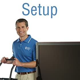 Table Top TV Setup Service