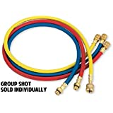 """FJC 6527 Yellow 72"""" R134A Charging Hose"""