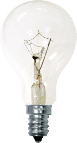 GE Lighting 71395 60-Watt 635-Lumen Decorative A15 Incandescent Light Bulb, Crystal Clear, 2-Pack