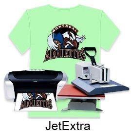 JetPro Sofstretch Inkjet Printer Heat Press Iron On Transfer Paper 8.5x11 (50)