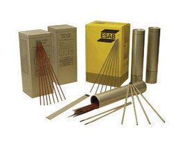 Esab Welding 255015323 Stick Electrode - ATOM ARC 7018 Welding Wires, 1/8 Dia., 14 Long, 10 lb. Can (Pack of 10) (Esab Wire compare prices)