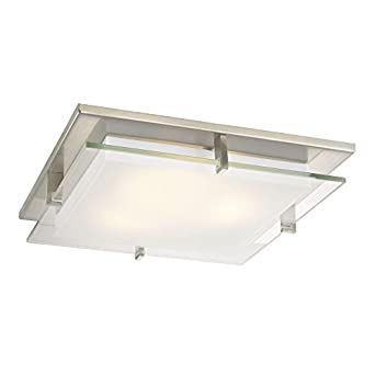 nickel square decorative recessed lighting ceiling trim. Black Bedroom Furniture Sets. Home Design Ideas