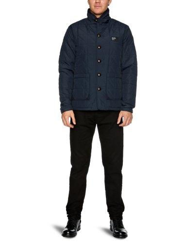Bench Lekan Men's Jacket Dark Navy Blue Medium