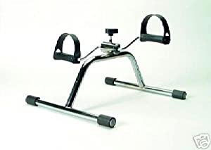 Invacare Standard Aerobic Pedal Exerciser - Chrome - QTY: 1