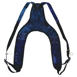 X8 Drums & Percussion X8-Std-Strap-Blue Celestial Djembe Hand Drum Strap, Blue