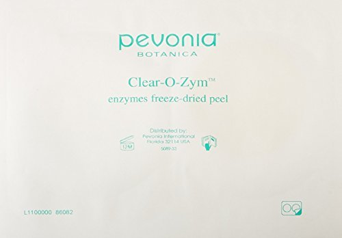 Pevonia Traitement Clear-O-Zym Enzymes Freeze-Dried Peel Kit (20 Treatments) by Pevonia (Pevonia Freeze Dried compare prices)