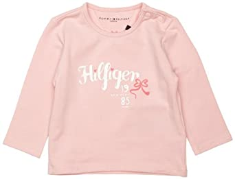 c6cb0516 Buy Tommy Hilfiger CN Knit Long Sleeve Baby Girl's Jumper at £15.75 from  Amazon