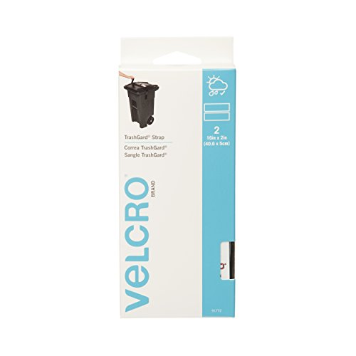 VELCRO Brand - All Purpose Straps - TrashGard Straps, 2 Ct. - Black