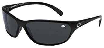 Bolle Venom Sunglasses (Shiny Black, Modulator Polarized Grey)
