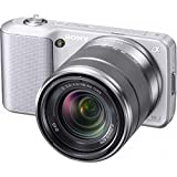 Sony Alpha NEX-3 Interchangeable Lens Digital Camera w/18-55mm Lens (Silver ....