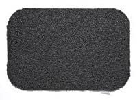 Hug Rug Eco Genics Plain - Barrier Dirt Trapper Door Mat Charcoal 50cm x 75cm by Hug Rug