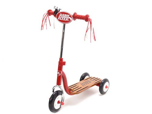 (Radio Flyer) RADIOFLYER Miwa kick board Little Red Scooter (Lit...