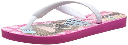IpanemaClassic  IV Kids - Infradito Unisex - Bambini , Multicolore (Mehrfarbig (pink white 8528)), 31/32