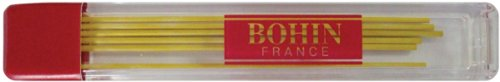 Mechanical Chalk Pencil Refill 6/Pkg-Yellow (Bohin Extra Fine Chalk Pencil compare prices)