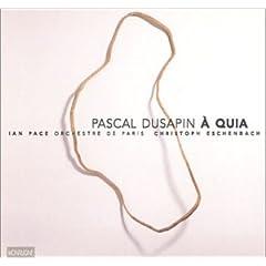 Pascal Dusapin 31EWGAB21BL._SL500_AA240_