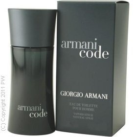 Armani Code By Giorgio Armani For Men. Eau De Toilette Spray 2.5 Oz.