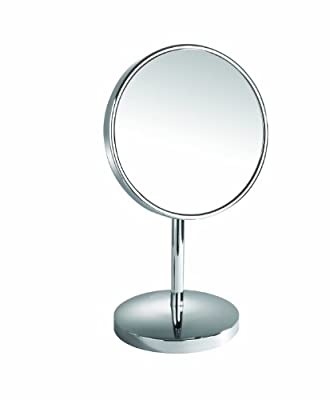 Cheapest Danielle 10X Chrome Vanity Mirror with Extending Base, Silver by Danielle - Free Shipping Available