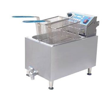 Globe Food Equipment GPC16 Electric Countertop 2 Gal. Pasta Cooker (Electric Pasta Boiler compare prices)