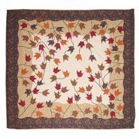 Patch Magic King Autumn leaves Duvet Cover by Patch Magic