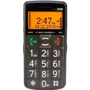 Snapfon ezONE-C Senior Cell Phone with Big Buttons