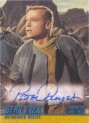 Star Trek TOS 40th Anniversary A118 Peter Duryea Autograph Card