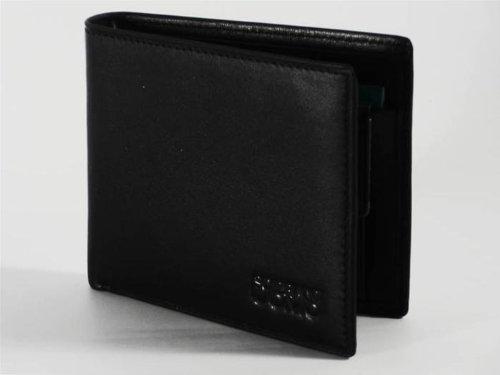 Mini portafoglio in pelle uomo Solo Soprani 2007 29 nero
