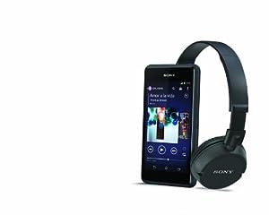 Sony Xperia E1 Smartphone USB/Bluetooth Android 4.2 Jelly Bean 4 Go Noir (Ecouteur ZX100 + 30 jours de musique offerte sur musique unlimited inclus)