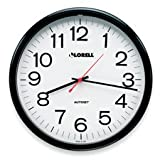 Lorell Products - Wall Clock, 13-1/4