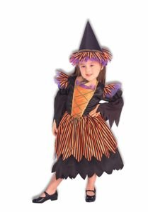 Story Book Witch Child Halloween Costume Size 4-6 Small