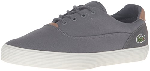 Lacoste Men's Jouer 316 1 Cam Fashion Sneaker, Grey, 9.5 M US