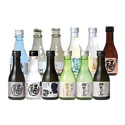 【送料無料】父の日オリジナル木升入り ちょいボトルセット(180ml 12本入)