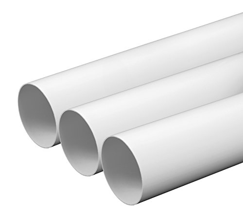 haco-tubo-oe-125-mm-lunghezza-1-m-metri-in-plastica-rotondo-tubo-rotondo-canale-di-ventilazione-sist