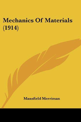 Mechanics of Materials (1914)