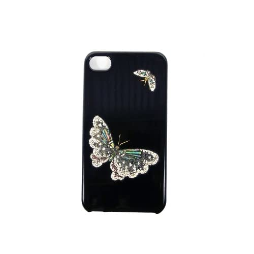 Amazon.com: Maki-e iPhone 4/4S Cover Case Made in Japan - Chocho (Butterfly): Cell Phones & Accessories from amazon.com