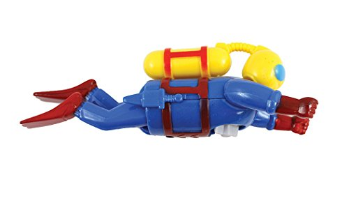 Castle Toys Wind Up Scuba Diver - 1
