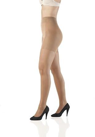 Sleex figurformende Strumpfhose - 30 DEN, Semi-transparent, Soft Satin Look, Natural Tan, Größe S