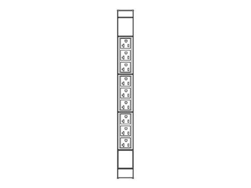 9 Nema 5-20R T Slot 20A L5-20 3M/10Ft Cord (035351041) - front-62233