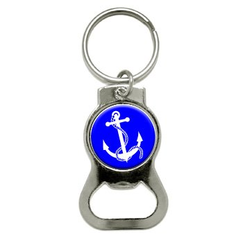 graphics and more anchor and rope boat boating bottle cap opener keychain kb0102 sporting. Black Bedroom Furniture Sets. Home Design Ideas