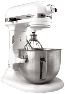KitchenAid KG25H3X Professional HD Series Stand Mixer-White