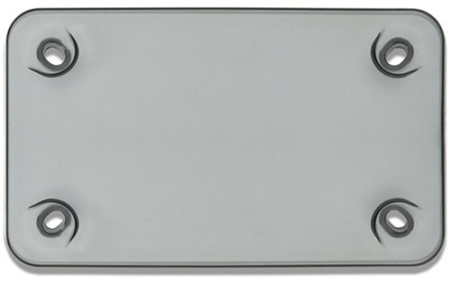 Cruiser Accessories Motorcycle Tuf-Shield Smoke License Plate
