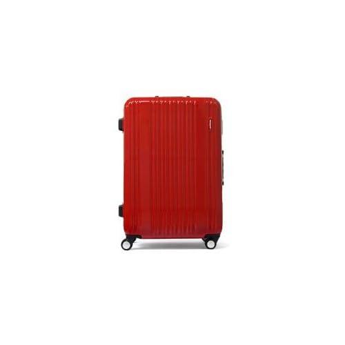 (バーマス)BERMAS スーツケース プレステージ フレームタイプ 60215 (52L) 58cm レッド