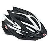 Bell Volt Helmet, Matt Black/White, Large