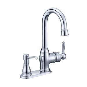 Glacier Bay Newbury Single Handle Bar Faucet in Chrome