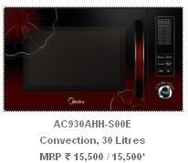 Carrier Midea Master-Chef AC930AHH-S00E 30 Litres Convection Microwave Oven