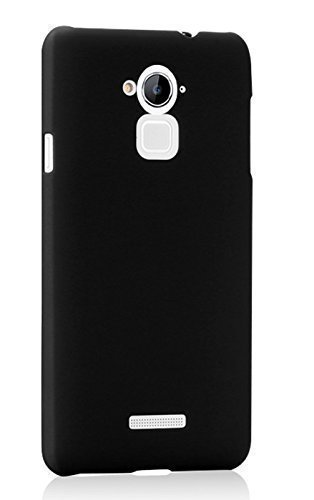 Plus-Rubberised-Matte-Hard-Case-Back-Cover-For-Coolpad-Note-3-/-Coolpad-Note-3-Plus-Black